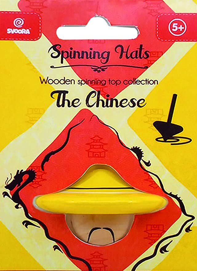 Svoora 13012 - Gorros: The Chinese Wood Spinning Tops Yo: Amazon ...