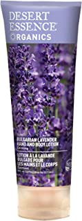 product image for Desert Essence Bulgarian Lavender Hand & Body Lotion - 8 Fl Ounce - Calming - Shea Butter - Aloe Vera - Soothes & Nurtures - No Oily Residue - Honeysuckle - No Parabens