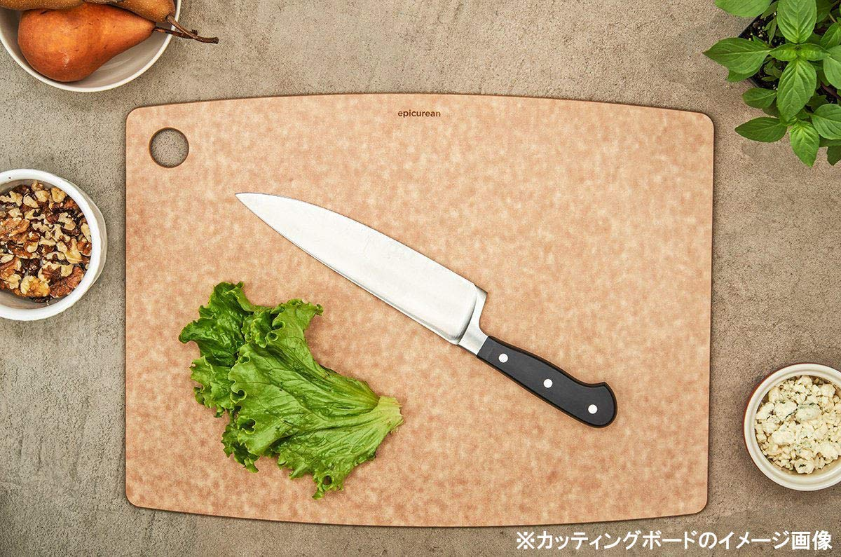 Compressed Wood Composite Black Slate 20 x 15 x 0.6 cm Epicurean Kitchen Series Cutting and Chopping Board