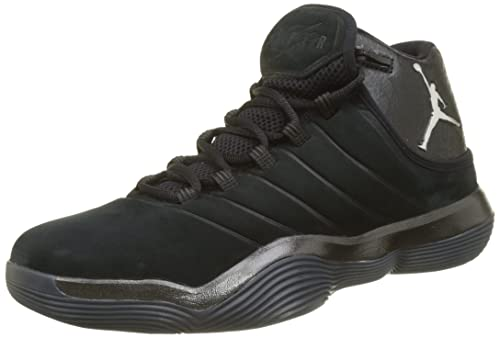 quite nice bf8e1 896a8 Nike Jordan Lunar Super.Fly Scarpe da Basket Uomo, Nero (Black Chrome