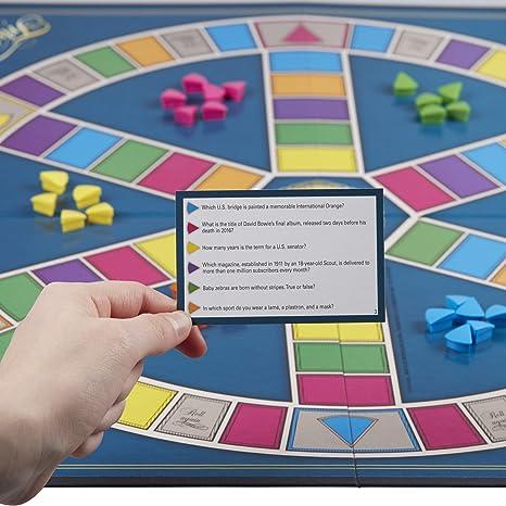 Trivial Pursuit (English Version): Hasbro: Amazon.es: Juguetes y juegos