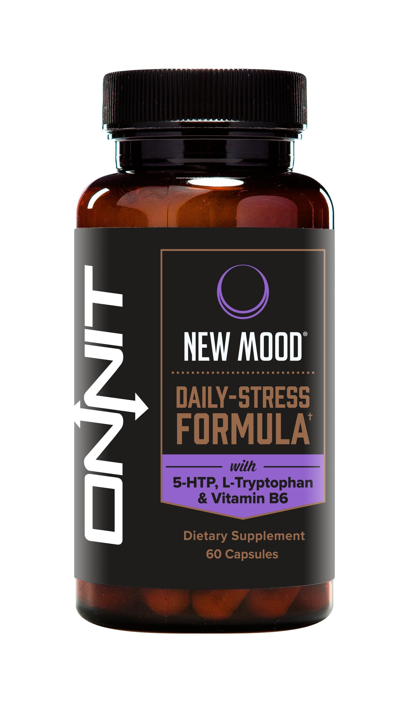 Onnit New Mood: Daily Stress, Mood, and Sleep Support Supplement (60ct)