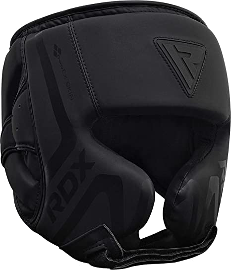 BOXING HEAD GUARD WITH GRILL MMA PROTECTOR MARTIAL ART GEAR HELMET TRAINING