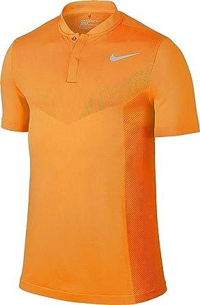 aa7605bf7b Nike Golf Mens Orange Polo Shirt at Amazon Men's Clothing store: