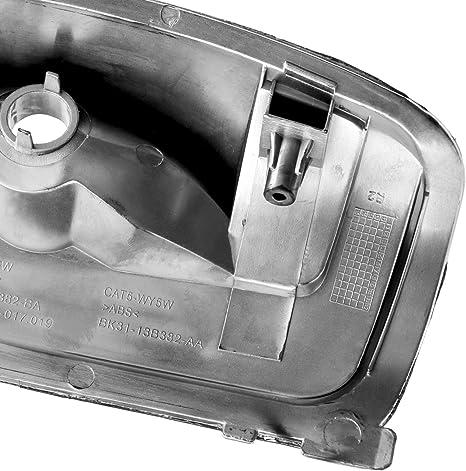 Für Ford Transit Mk8 Spiegelblinker Spiegel Abdeckung Außenspiegel Weiß Rechts Baumarkt