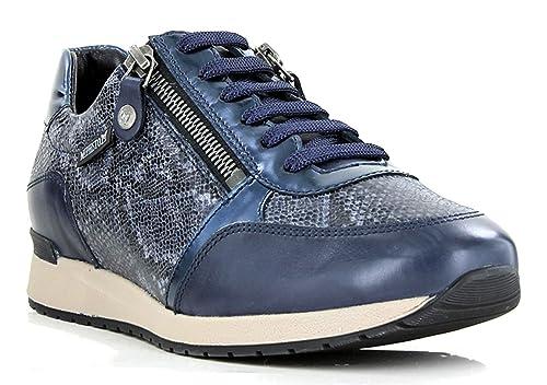 8e6fa9df28206 MEPHISTO Women's Nona Wide Fit Lace Up Sneaker (N2640): Amazon.co.uk ...