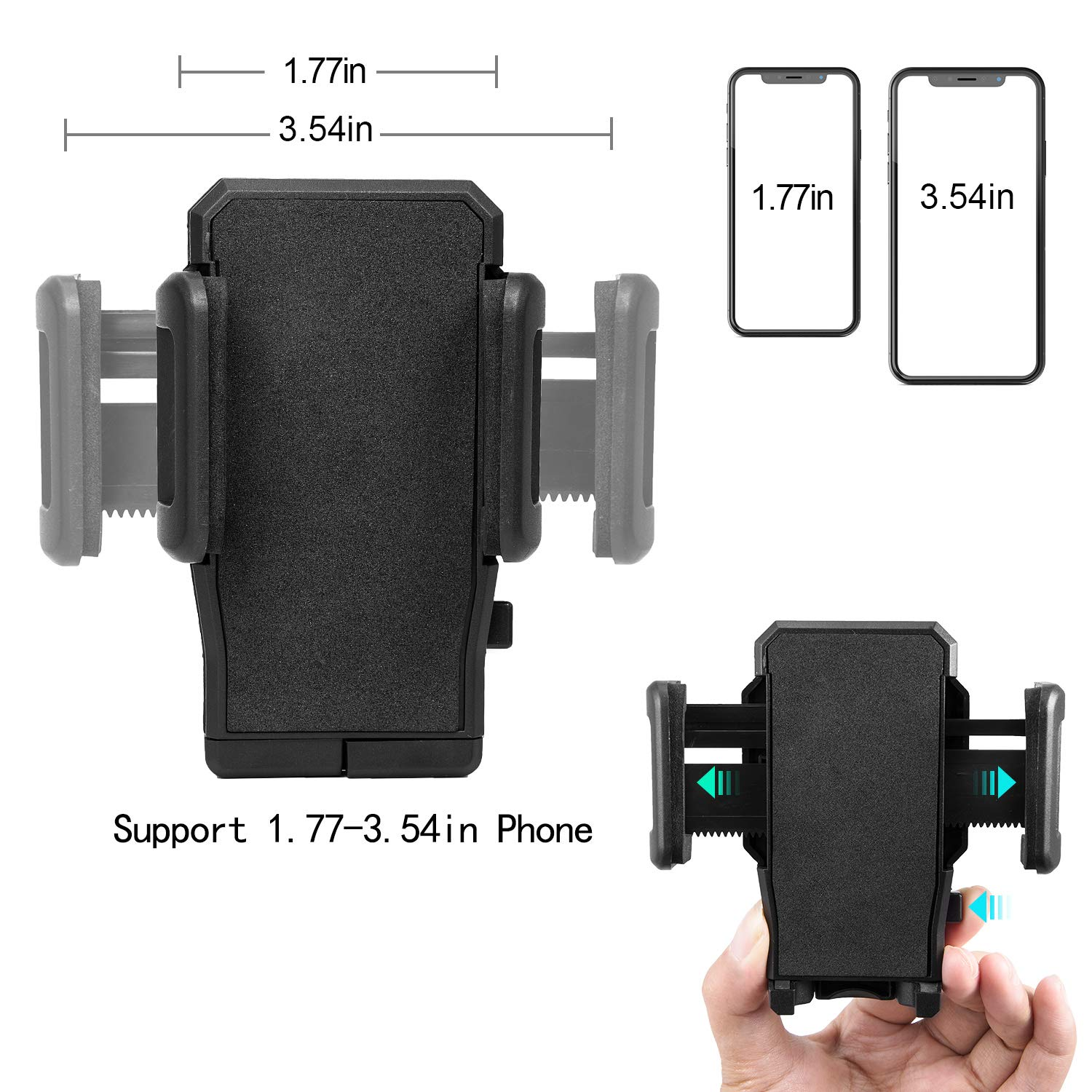 Universal Cup Phone Car Holder Mount with Adjustable Long Arm 360/° Rotatable Cradle for iPhone Xr Xs Max 8 7 Plus Galaxy S10 S9 S8 Note 9 Strong Locking Mechanism MODESLAB Car Cup Cell Phone Holder