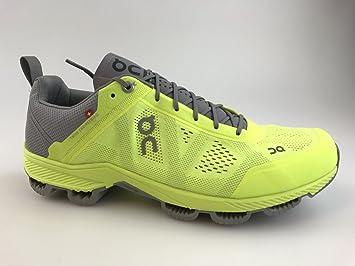 On Running Hombre unidad Zapatillas Cloud urfer, NEON/GREY, 10.5: Amazon.es: Deportes y aire libre