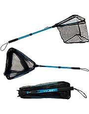 Telescopic Fishing Bait Net Trap Cast Dip Crab Fish Minnow Crawdad Shrimp Handle