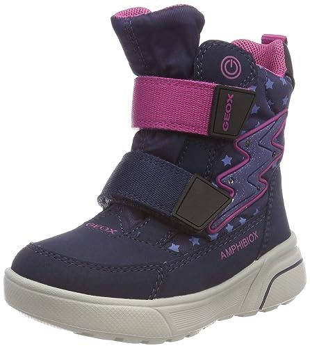 Geox J Sveggen Girl B ABX B, Botas de Nieve para Niñas: Amazon.es: Zapatos y complementos