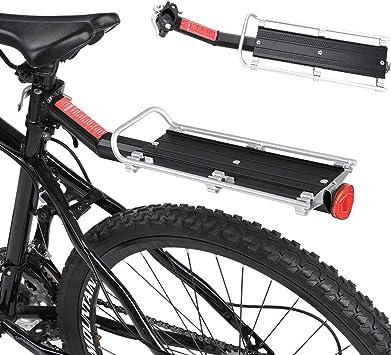 DaMohony - Portaequipajes para bicicleta, aleación de aluminio ...