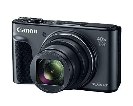 CANON 1791C001 20.3-Megapixel PowerShot(R) SX730 Digital Camera (Black) Medium Format Digital Cameras at amazon