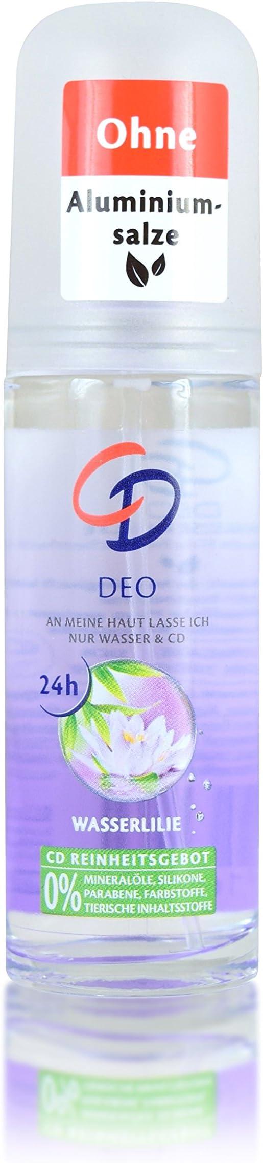 5 Pack CD Ambientador de viaje spray Water Lily 5 x 25 ml: Amazon ...