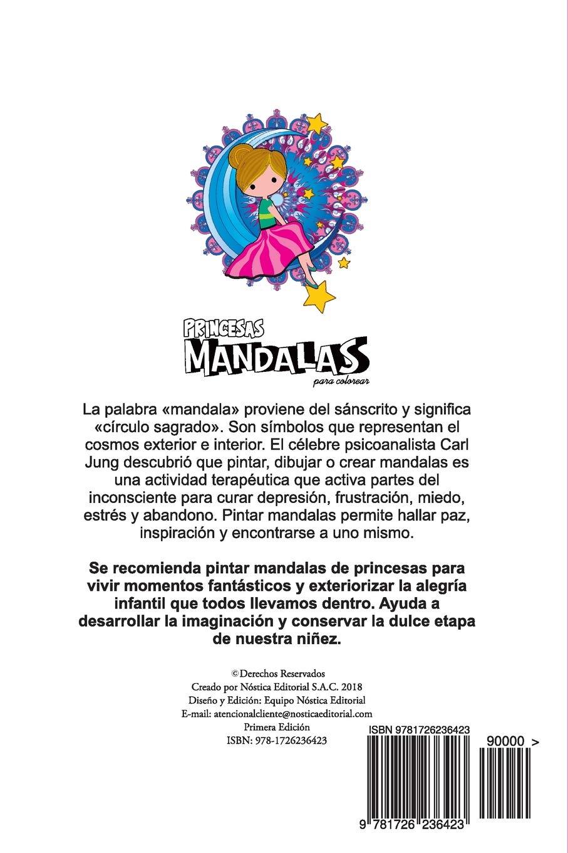 Amazonin Buy Mandalas Princesas Para Colorear Book Online At Low
