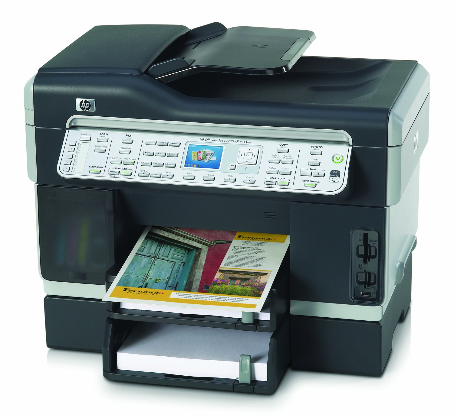 HP Officejet Pro L7780 Wireless Network Enabled All-in-One Printer,  Scanner, Copier and Fax: Amazon.co.uk: Computers & Accessories