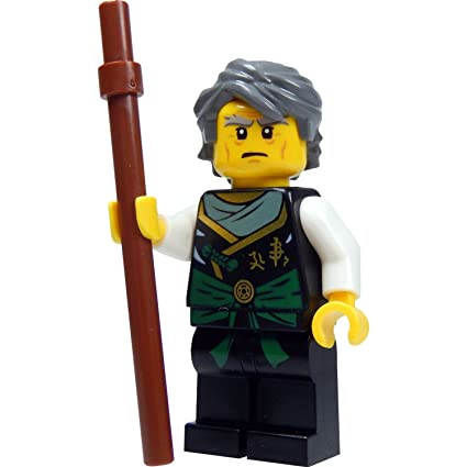 LEGO Ninjago Minifigure - Sensei Garmadon Ninja with Staff (70750)