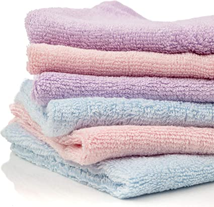 Pack of 12 Perfect for Babies Newborns /& Adults! Glengor Luxury Bamboo Washcloths 100/% Organic Perfect as Travel Wipes | Environmentally Friendly Ultra-Soft Great for Sensitive Skin
