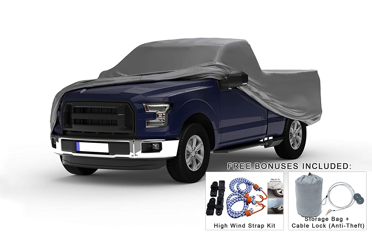 Amazon Com Weatherproof Truck Cover Compatible With 1993 1998