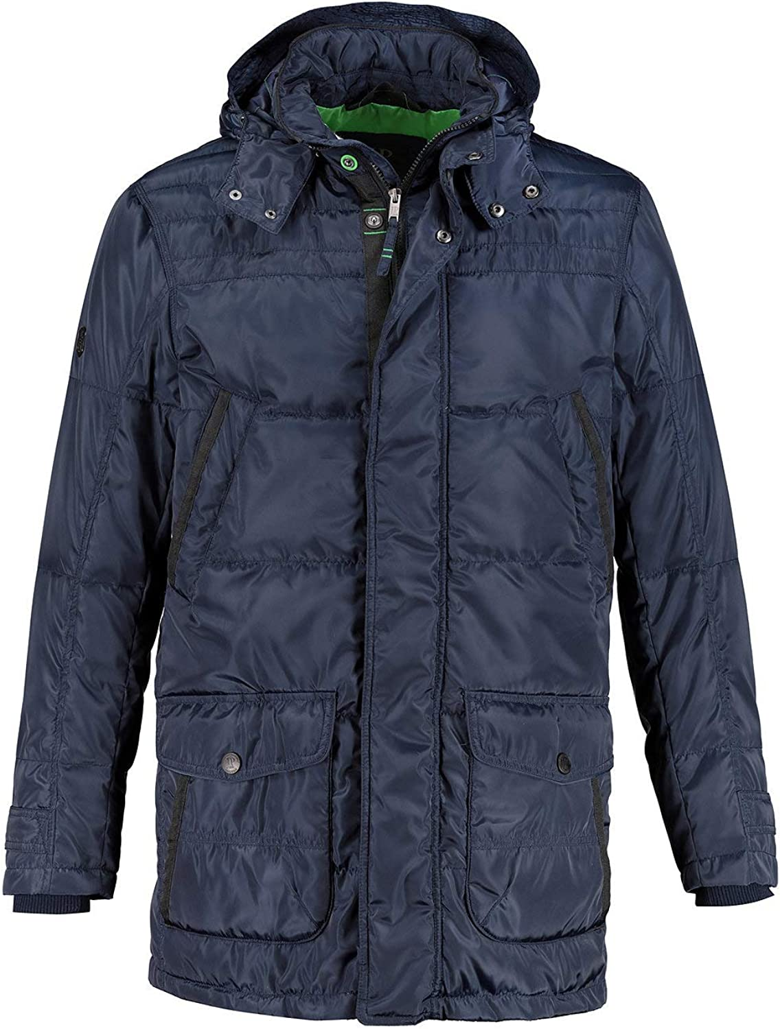 JP 1880 Mens Big /& Tall Quilted Parka 716938