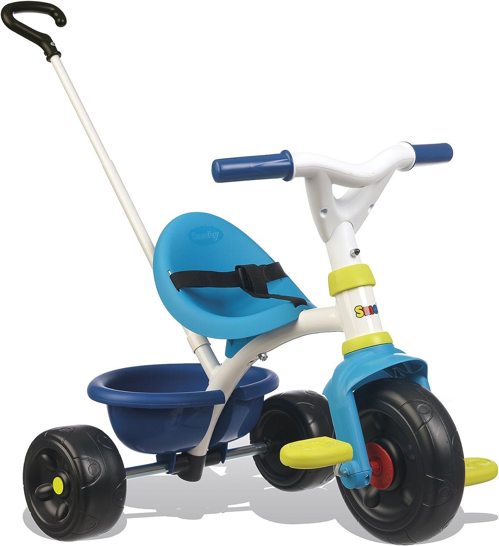 Triciclo Be Fun azul con volquete (Smoby 740323)