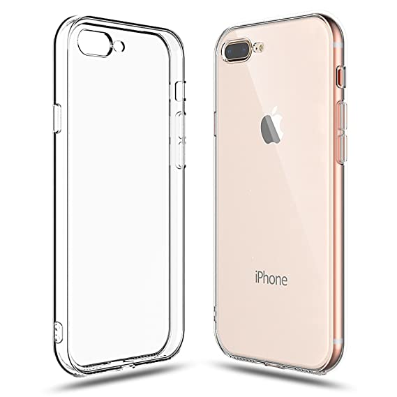 iphone 8 case clear silicone