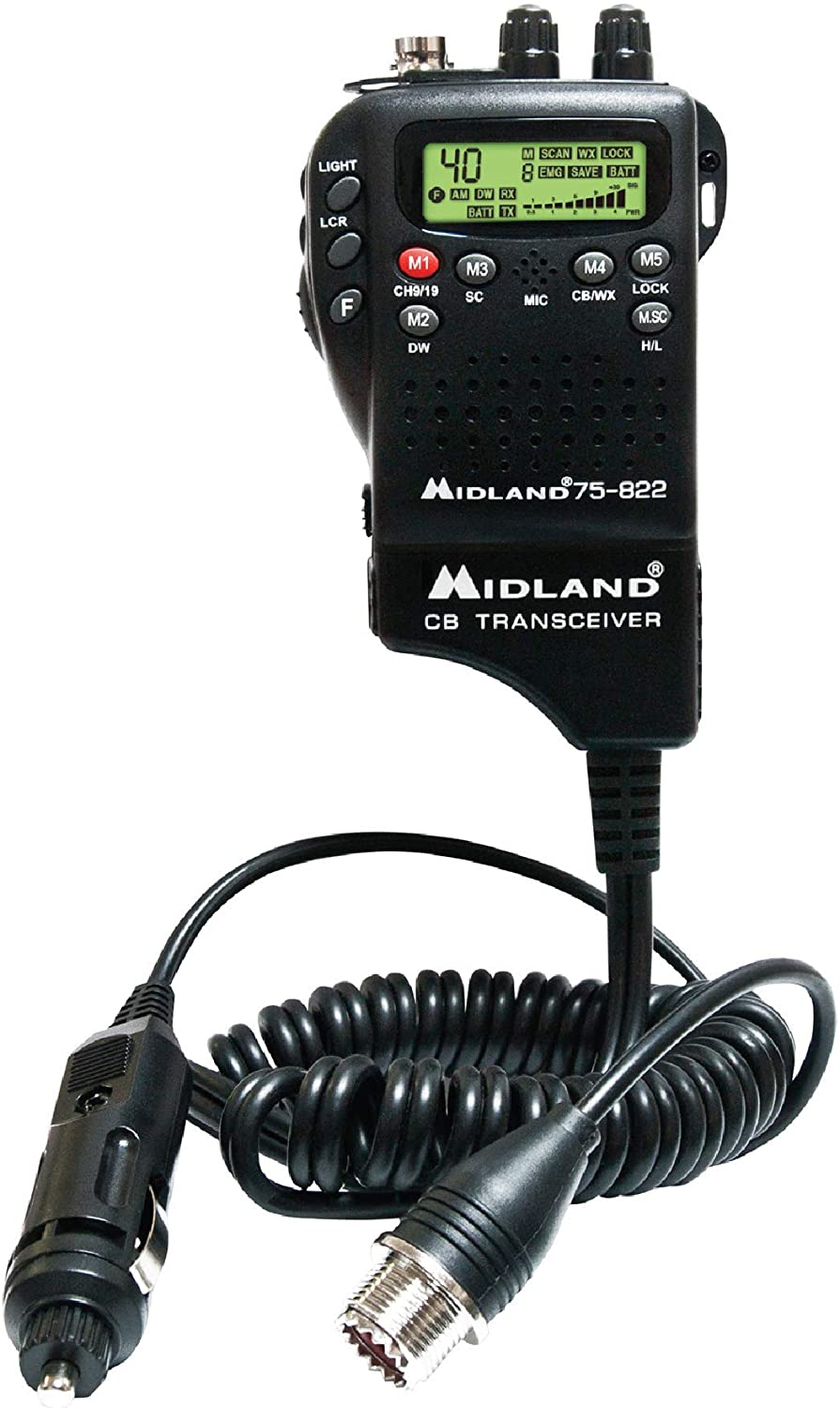 Midland 75-822 40 Channel CB-Way Radio: Home Audio & Theater