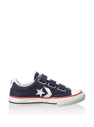 04f7570b68c9b Converse Star Player Ev Triple 315467 Enfant Chaussures Bleu Fonc   Amazon.fr  Chaussures et Sacs