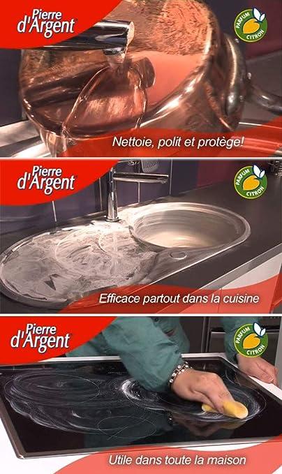 La Pierre dArgent ® 500 GR - Piedra Blanca para Limpieza ...