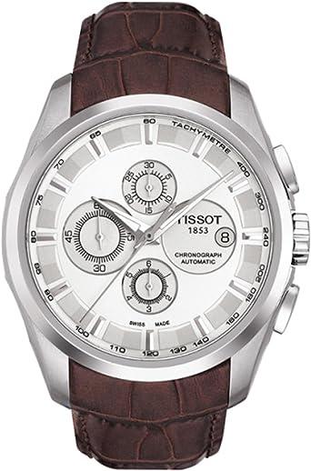 Reloj Tissot para mujer Couturier automático en acero