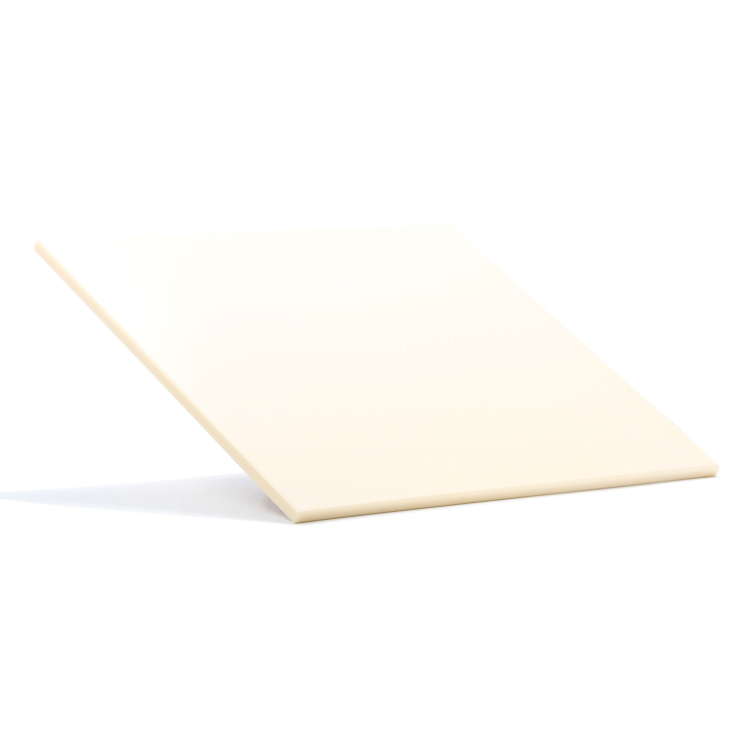 Camco Decor Mate Stove Topper and Cutting Board - Eliminates RV and Camper Stove Top Rattling |Can be Used as a Serving Tray - Almond (43709)
