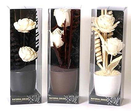 Bouquet Di Fiori Artificiali Con Vaso Arredo Stile Etnico Amazon It