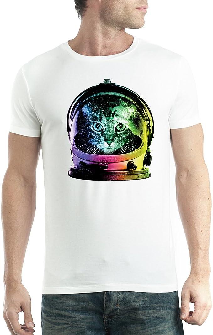 New Spaceman Man on the Moon Space NASA Rocket Funny Men/'s Black T-Shirt S-5XL