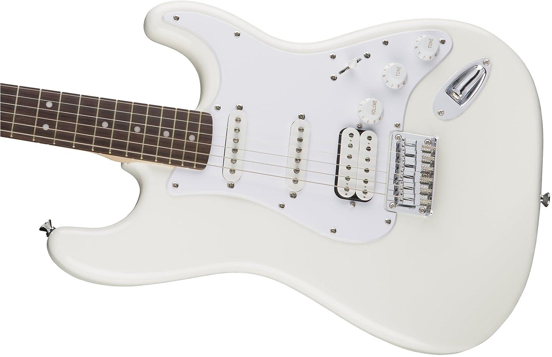 Guitare /électrique Squier Stratocaster Bullet HSS HT arctic white