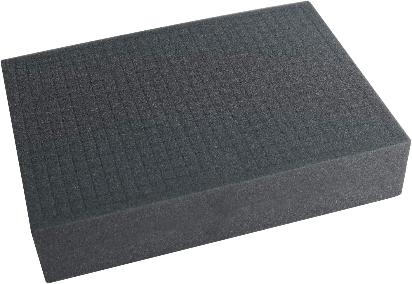 HMF 1451-90 Espuma Personalizable Precortada, Inserciones de Espuma para Cajas, 440 x 320 mm, Tabletop, Altura: 90 mm
