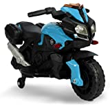 93be423db LT875 Motocicleta eléctrica para niños MOTO SPEED con luces y sonidos  realistas - Azul
