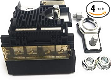 Amazon.com: Everbuilt Positive Battery Fuse Block + Terminal Kit with Two  M8 Nuts Compatible For 2008-2014 Nissan Murano 2009-2014 Maxima 2007-2012  Altima Fuseible Link 24380-JA00A: Automotive | Battery And Fuse Box Nissan |  | Amazon.com