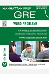 GRE Word Problems (Manhattan Prep GRE Strategy Guides Book 5) Kindle Edition