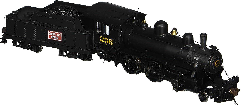 Bachmann Industries Alco 2-6-0 DCC Ready Locomotive - GREEN BAY & WESTERN #256 - (1:87 HO Scale)