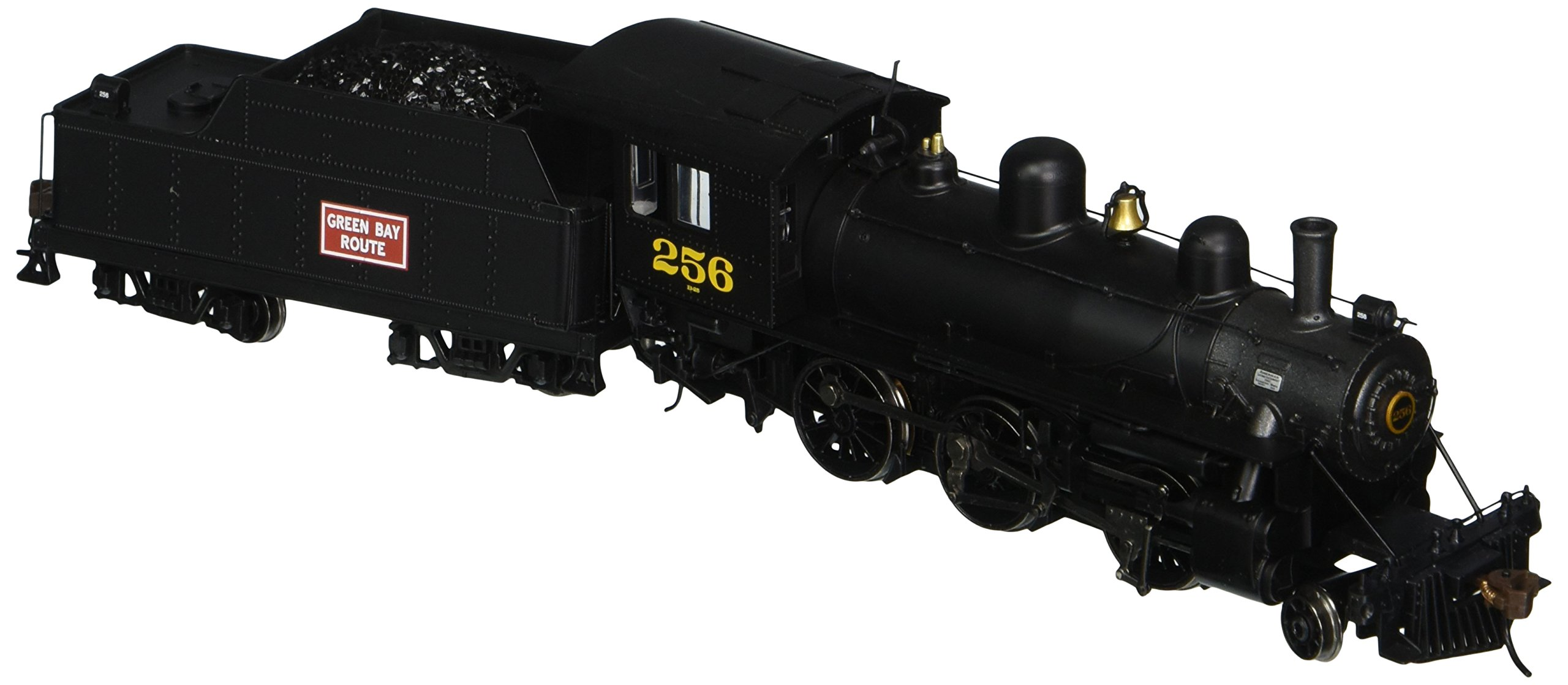 Bachmann Industries Alco 2-6-0 DCC Ready Locomotive - GREEN BAY & WESTERN #256 - (1:87 HO Scale)