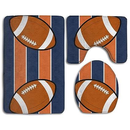 Sensational Amazon Com Bathroom Anti Skid Pad Denver Broncos Fabric Andrewgaddart Wooden Chair Designs For Living Room Andrewgaddartcom