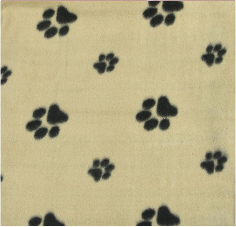 Pet Puppy Cat Kitten Soft Fleece Pet Blanket Dogs /& Puppy Blanket /& Cat Blankets Pack Of 3 70cm-73cm 70cm x 73cm, Beige