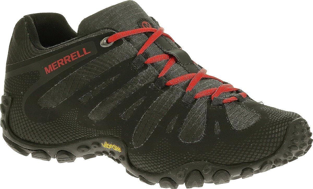 Merrell Chameleon II Flux J21427 Outdoorschuhe Trekkingschuhe Turnschuhe Herren J21427 schwarz