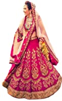 Shreebalaji Enterprise Women'S Chiffon/Cotton Silk Lehenga Choli (Pink)