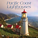 Pacific Coast Lighthouses 2019 12 x 12 Inch Monthly