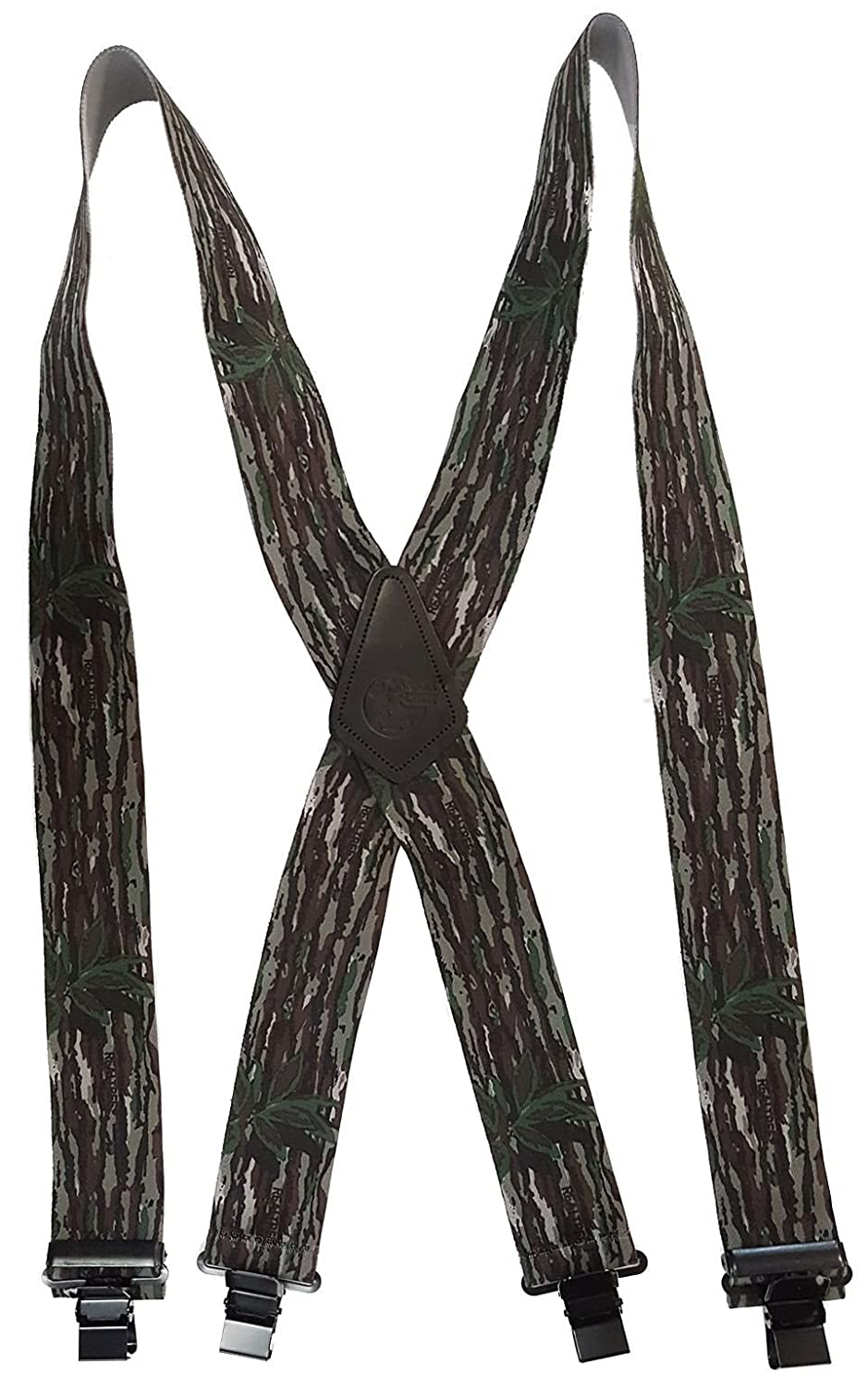 USA MADE CUSTOM SUSPENDERS • 2 WIDE • STRONG METAL CLIPS • BUY AMERICAN !