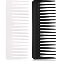 Large Hair Detangling Comb Wide Tooth Comb for Curly Hair Wet Dry Hair, No Handle Detangler Comb Styling Shampoo Comb…