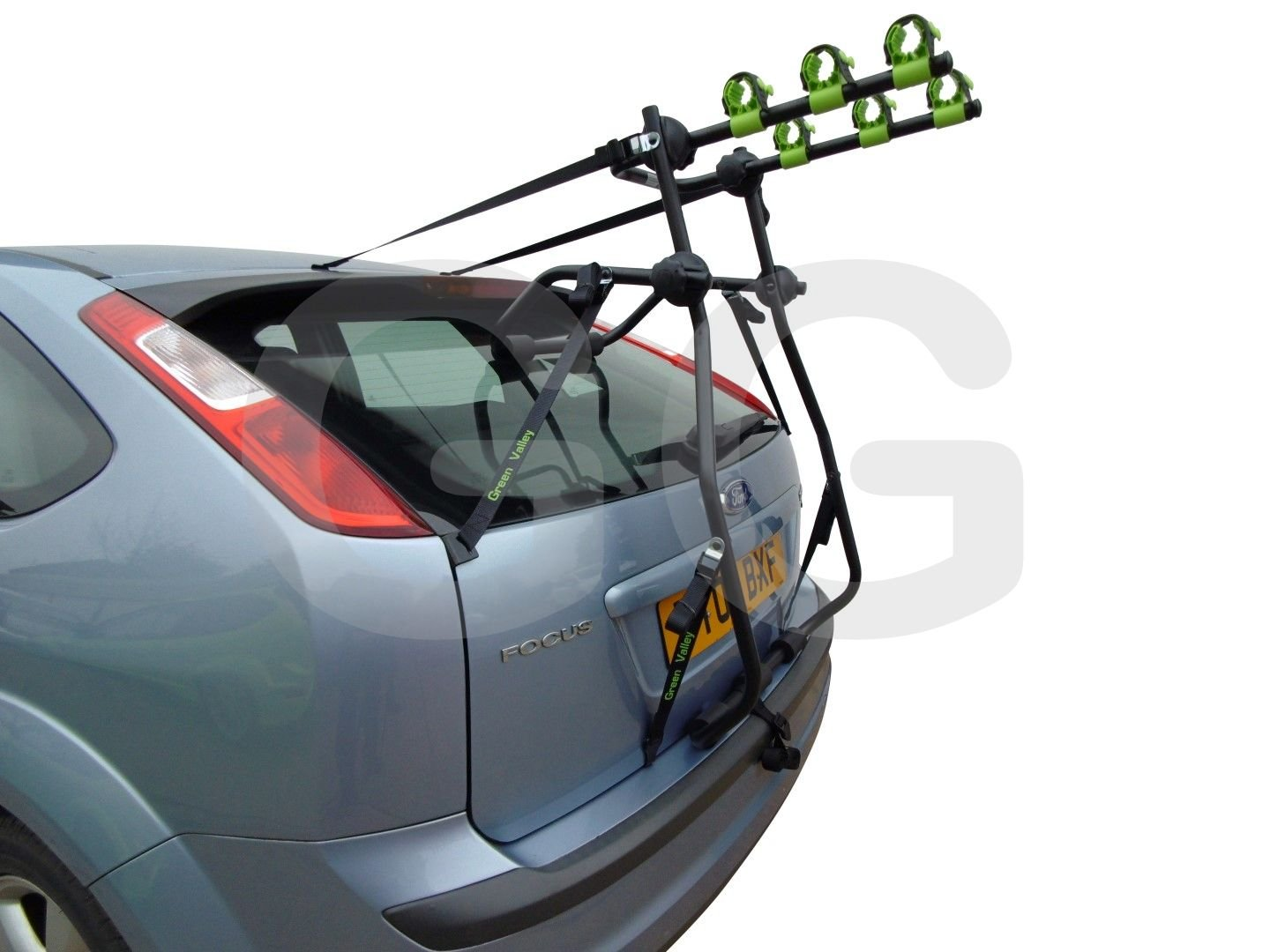 Adventure 3 Bike Cycle Carrier Boot Mounted Rack Fits Ford Focus 2005-2010