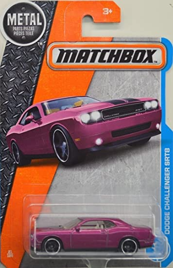 Matchbox 2017 MBX Adventure City Dodge Challenger SRT8 21/125, Purple