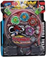 Kids Choice Leela Kid's Metal Beyblade Toy Pack with Ripchord Launcher 4 Blade