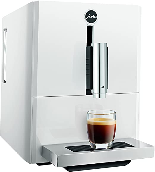 JURA A1 Piano White Independiente Máquina espresso Blanco 1,1 L 9 ...